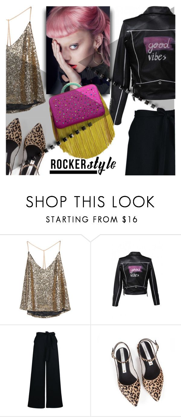 """ROCKER CHIC"" by tiziana-melera ❤ liked on Polyvore featuring Zolà, Tangent, The Volon, rockerchic and rockerstyle"