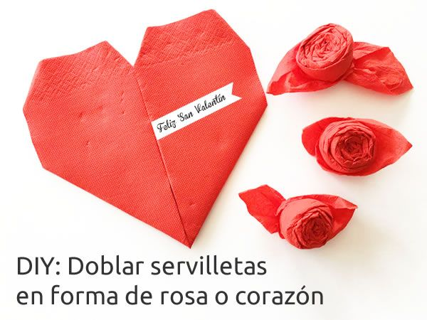 17 best images about manualidades san valent n on - Origami con servilletas ...