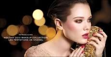 The Chanel Holiday 2010 'Les Tenations' Makeup Collection is Vibrant #makeup trendhunter.com