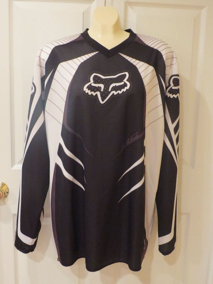 MAKE AN OFFER TODAY!!  Fox Racing Jersey Black/White Size XL  #FoxRacing