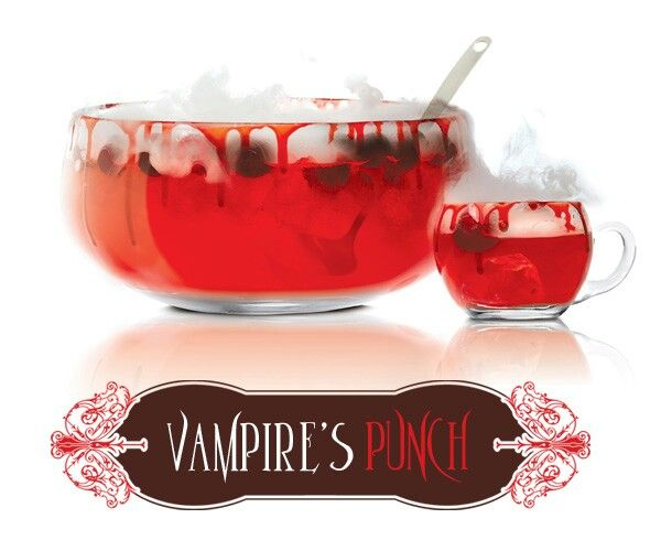 Halloween Inspired Vampire's Punch Mixed Drink 18 oz. SKYY Infusions ...