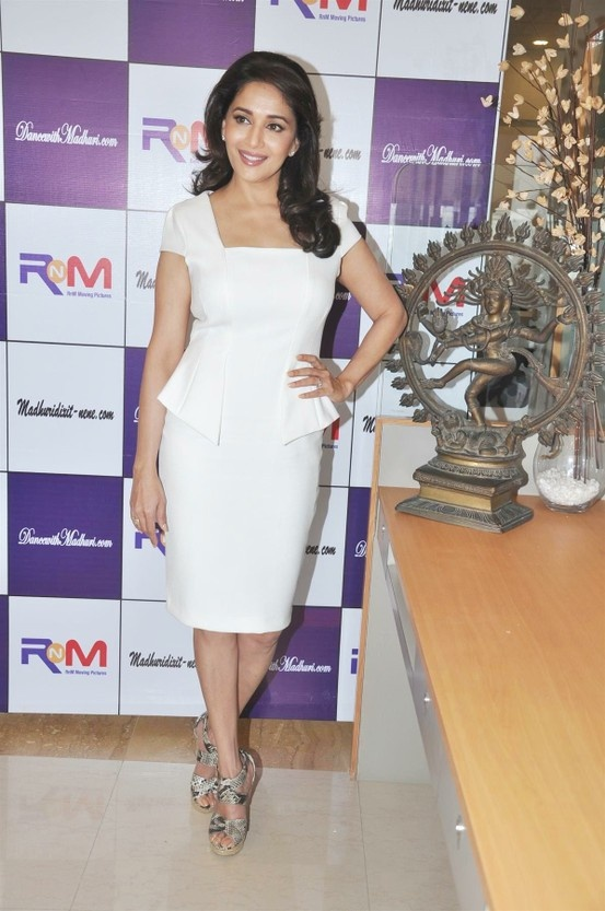 Madhuri Dixit Launches her Online Dance Academy.
