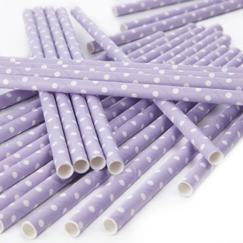 Purple Straw