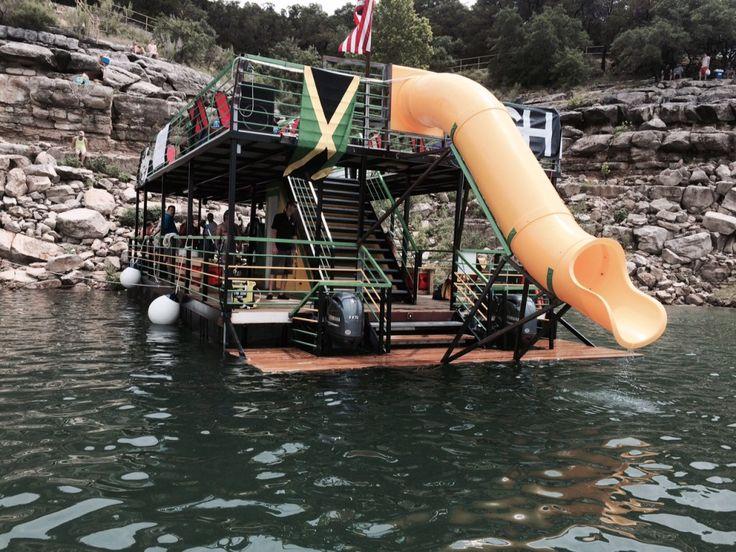 Lake Travis party barge