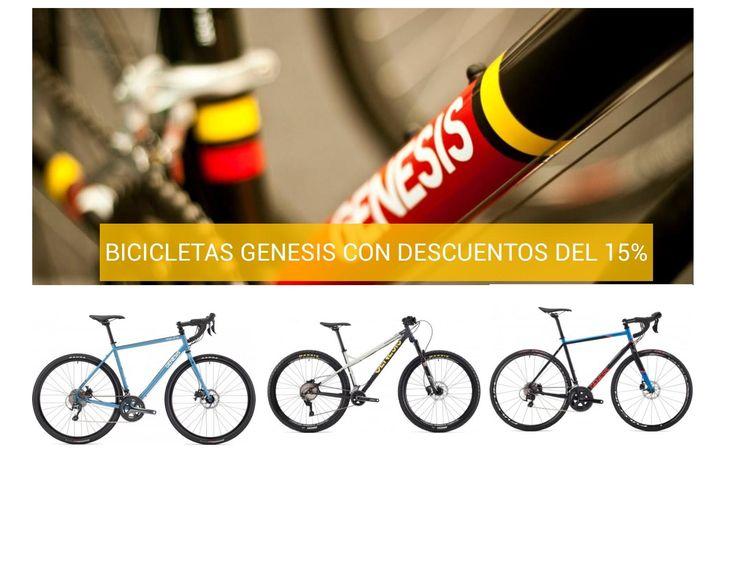 Ofertas bicicletas Genesis 2017 con descuento del 15%