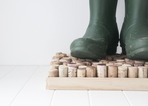 Keep those muddy tracks away from your hardwoods and rugs with DIY boot trays and storage solutions.