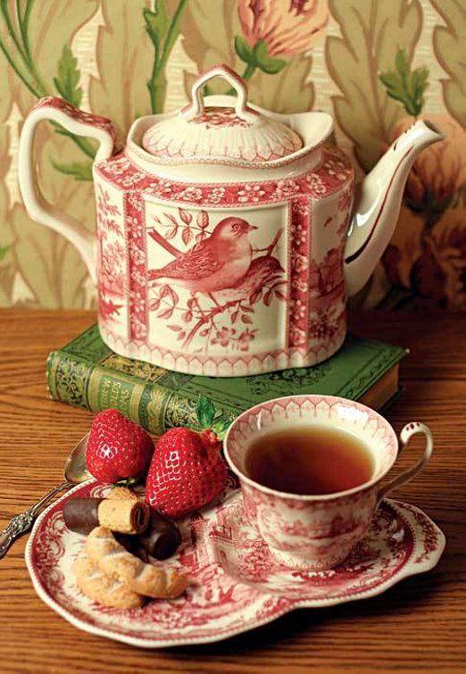 Pretty Bird Afternoon Tea Set: