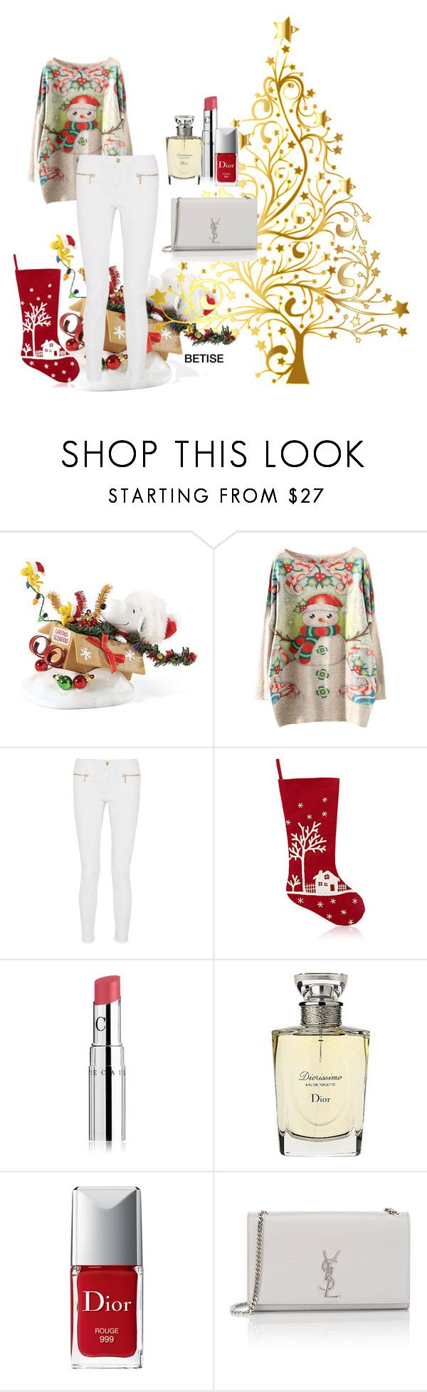 """""""OH  COME !  OH  COME .... EMMANUEL ! 🎄✨✨"""" by betty-sanga ❤ liked on Polyvore featuring Improvements, MICHAEL Michael Kors, Chantecaille, Christian Dior and Yves Saint Laurent"""