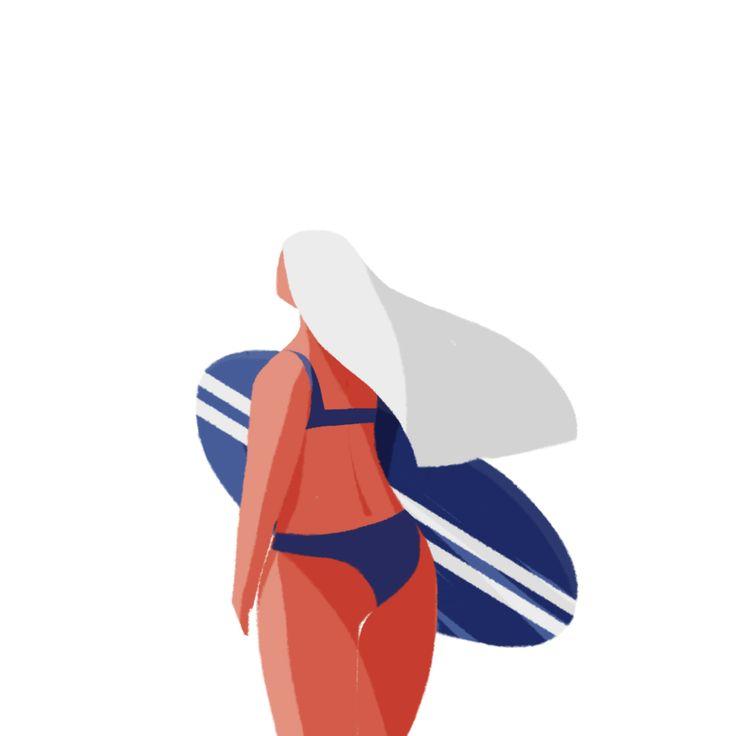 #summergirl illustration by minkyung