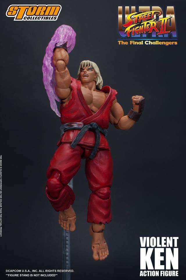 Street Fighter II Violent Ken The Final Challengers Action Figure