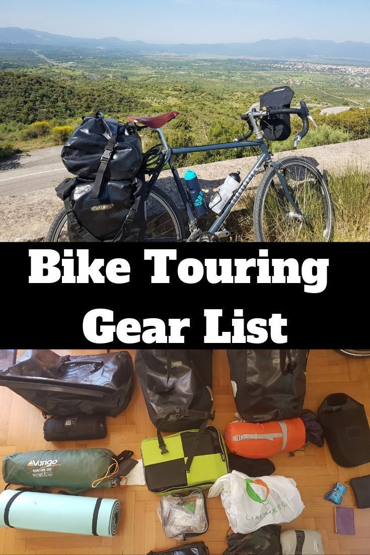 Bike Touring Gear List For The Herculean Bike Tour of Peloponnese