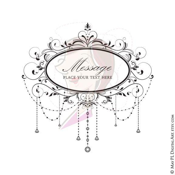 82600efb725 Elegant Chandelier Oval Frame Wedding Clipart  Elegant  Chandelier  Frame   Wedding