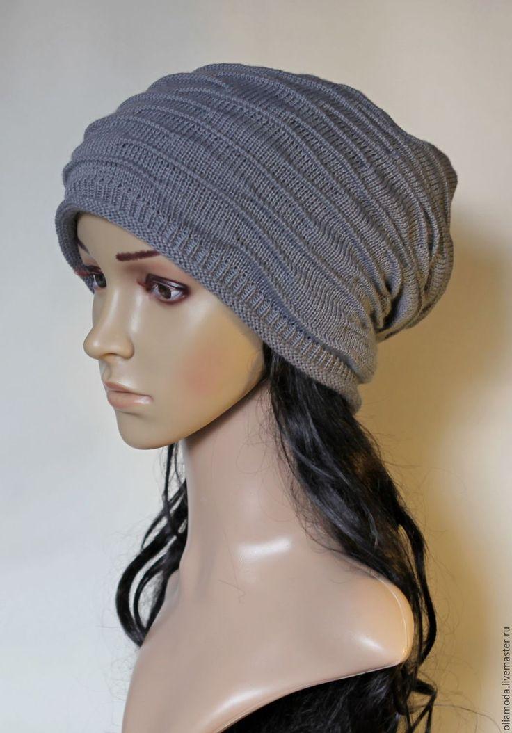 шапка шапка-чулок шапка вязаная