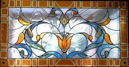Витраж Классика - Витраж,Витраж Тиффани,витражное стекло,витражная картина