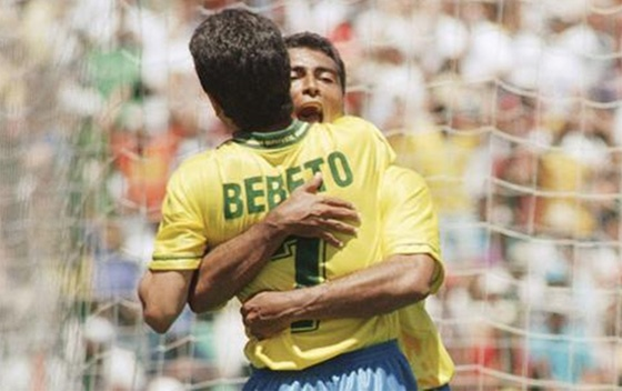 Bebeto & Romario, the Dream Duo of 1994.