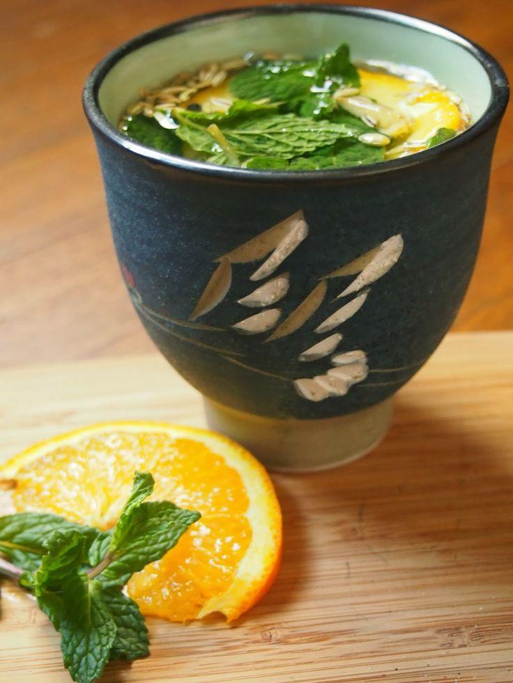 An Avocado A Day: Orange Ginger Digestion Tea
