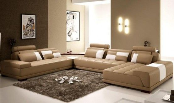The show must go on [Laiza's Club] (Leire] 9d655b8f4588de1f9e9c747a9704ae33--brown-living-rooms-leather-living-rooms