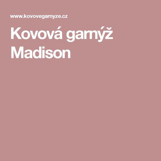 Kovová garnýž Madison