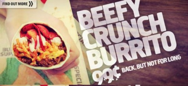 Taco Bell Brings Back the Beefy Crunch Burrito in 'NBA Big Box'
