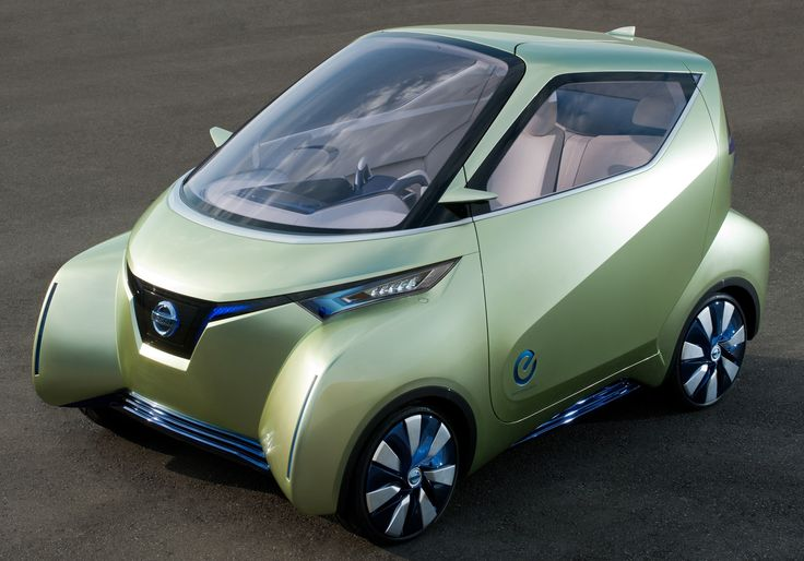 Nissan Pivo (electric car)its design