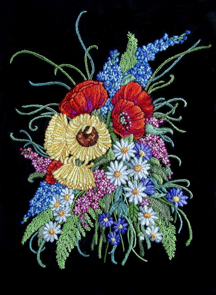 Best images about crewel embroidery traditional on