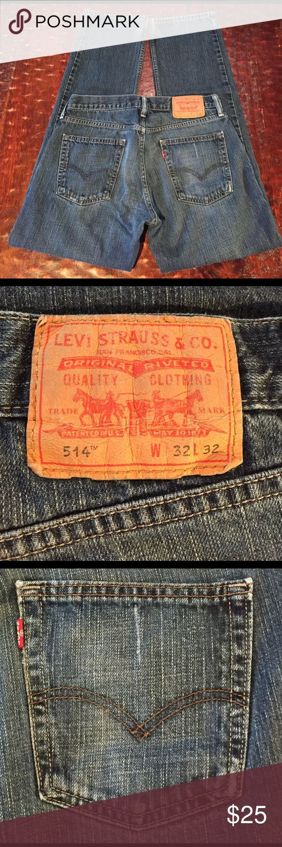 Levis Men's 514 Size 32/32 Men's Levis 514 Size 32/32. Jeans are in excellent. Condition with no signs of wear. Comes from a Smoke Free/Pet Friendly home. Offers always welcome. Levi's Jeans Bootcut