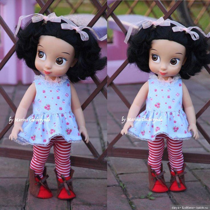 Туника и леггинсы для куклы Дисней Аниматорс / Выкройки одежды для кукол-детей, мастер классы / Бэйбики. Куклы фото. Одежда для кукол