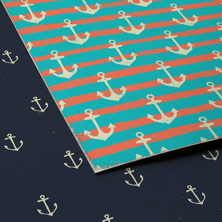 "Nautical Digital Paper ""Old Sea Anchor""set by DigiWorkshop #etsy #digiworkshop #scrapbooking #illustration #creative #artwork #art #scrapbook #nautical #backgrounds #patterns #anchor #marine #sea"