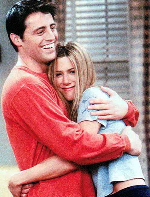 "Matt LeBlanc and Jennifer Aniston, ""Friends""  Joey and Rachel"