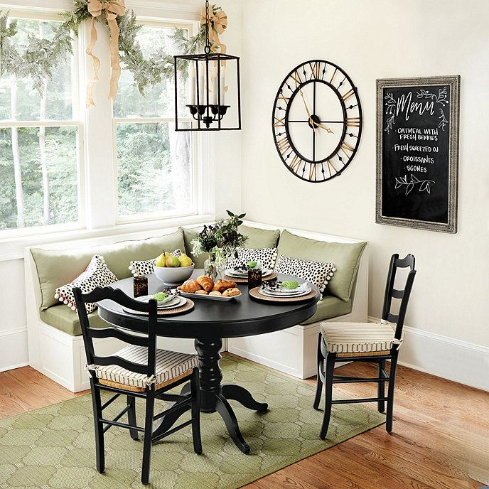 Sidney Dining Table Ballard Designs Banquette Seating In Kitchen Dining Nook Kitchen Seating