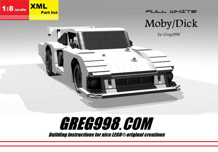 Full White Moby/Dick by Greg998
