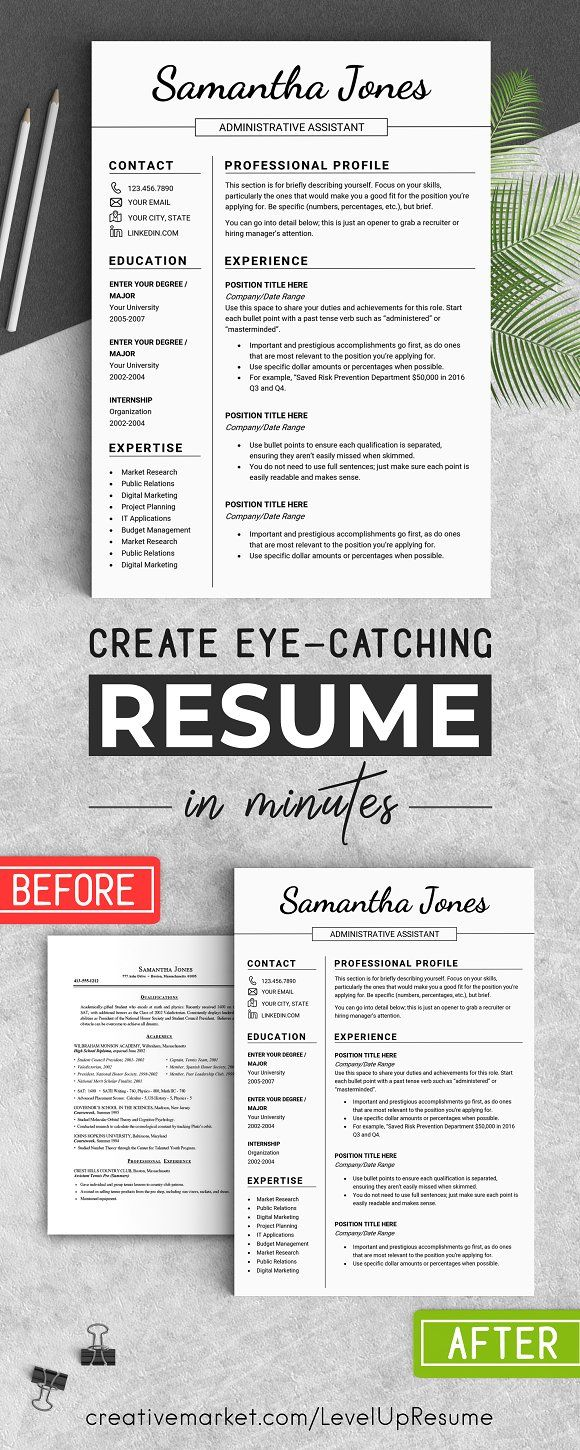 minimalist resume template      jones  creativew u2026