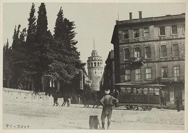 Galata kulesi 1920
