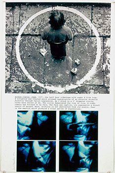 Dennis Oppenheim - Rocked Circle - Fear - 1971