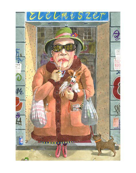 Így látja Budapestet egy kenyai brit festőművész - 21. kép