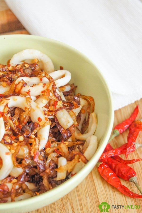 Закуска из кальмара рецепт | appetizer of squid