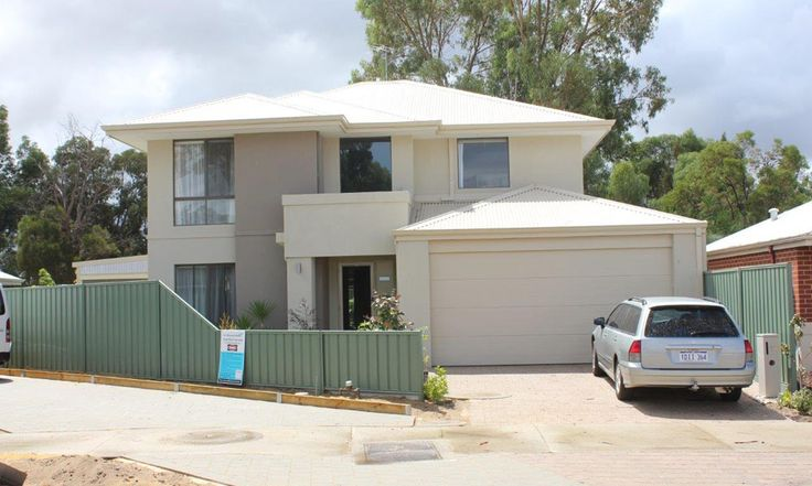 2 storey fast build light weight house - completed - looks just like a standard rendered home.