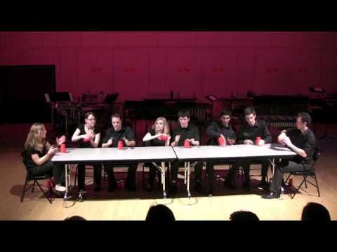 Cups! (Spring 2010) - THUD. My favourite Cup Song performance (with many variations!).