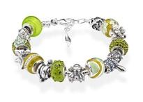 Amore & Baci green bracelet