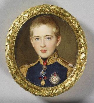 Pedro V, King of Portugal (1837-1861) when Duke of Braganza