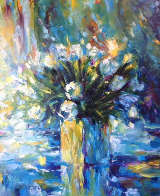 Let It Be. 50x60 cm. Oil, canvas
