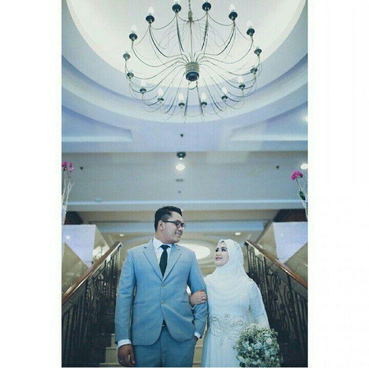 Elegant wedding outfit by Allya Mysara