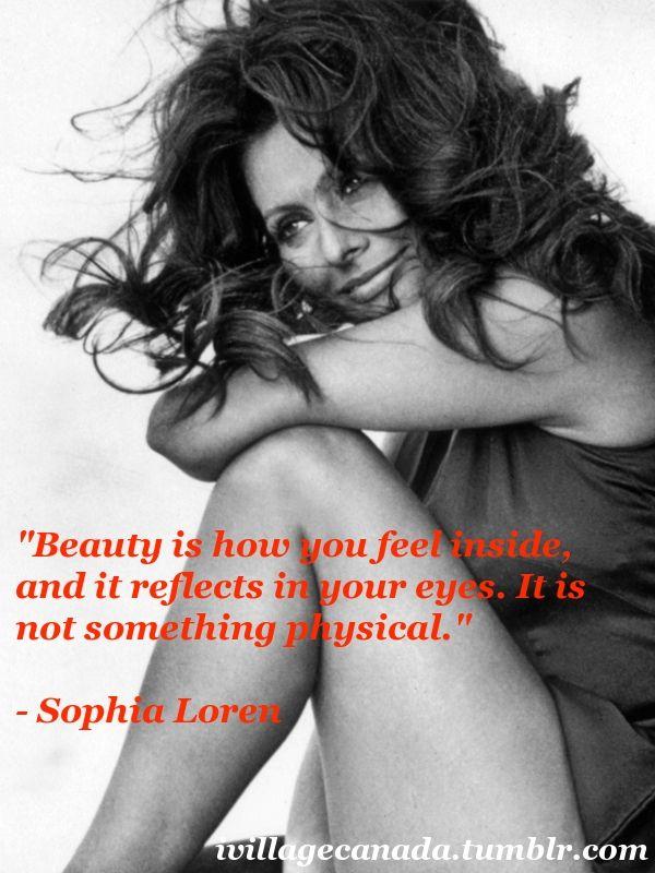 Sophia Loren born Sofia Villani Scicolone  20 September 1934) is an Italian actress.<3