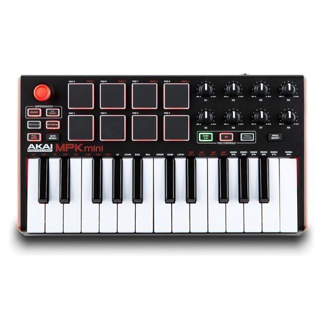 AKAI MPK Mini MK2 Keyboard Synthesizer