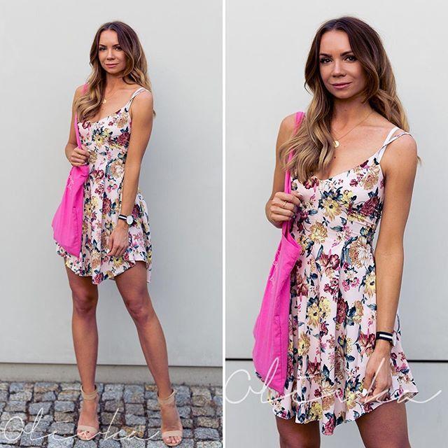 WEBSTA @ olivka_blog - Nowy wpis na blogu 😊 Sukienka @sugarfree Dziękuje dziewczyny za wszystkie komentarze pod ostatim zdjęciem! Zaczynam lubić moje proste włosy 💁🏽