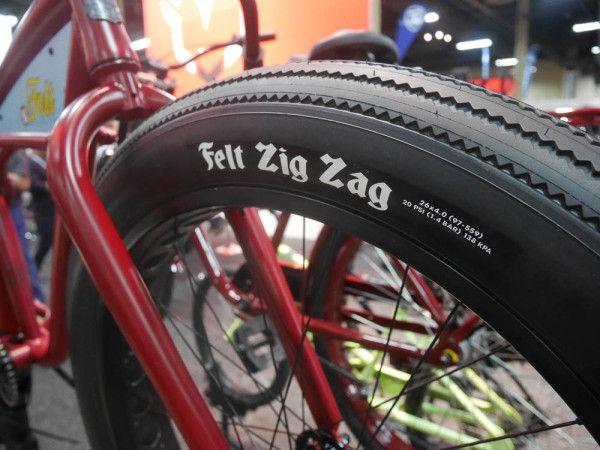 Felt Zig Zag Cruiser Tire