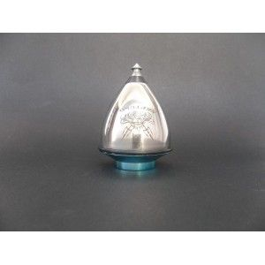 Stainless Steel Bearing Spinning TopFrom Trompos Space; Neptuno Throwing Top|Turner Toys