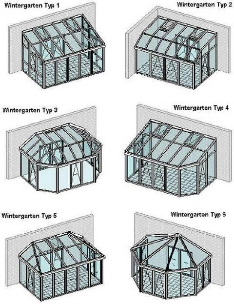 Conservatory roof shapes Winter garden roof shapes - #Dachformen #Wintergarten...  #Conservatory #Healthimages #roof #shapes