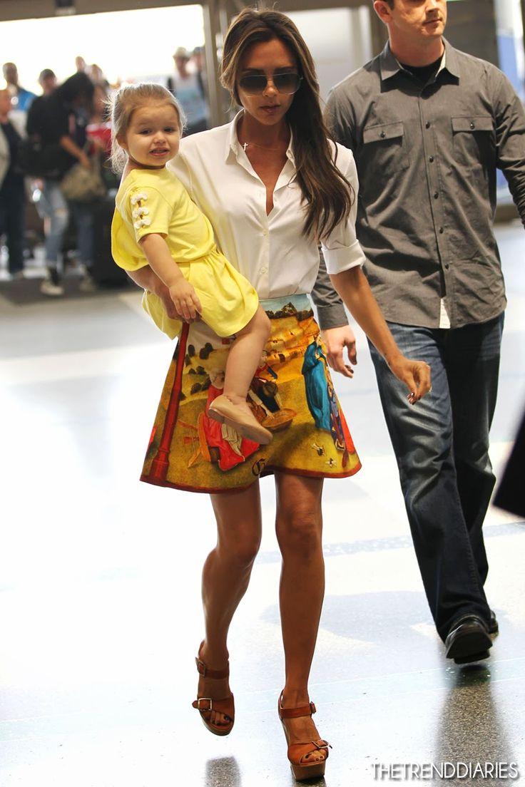 Victoria Beckham at LAX Airport in Los Angeles, California - June 1, 2013