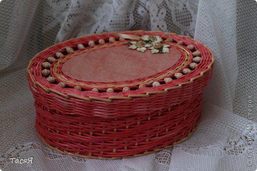 Поделка изделие Плетение Розовая эпопея  Часть третья заключительная -  Бумага фото 1